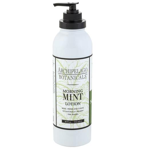 Morning Mint 18oz Lotion by Archipelago Botanicals