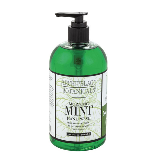 Morning Mint 17 oz. Hand Wash