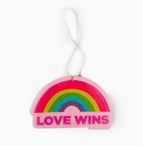 Love Wins Air Freshener