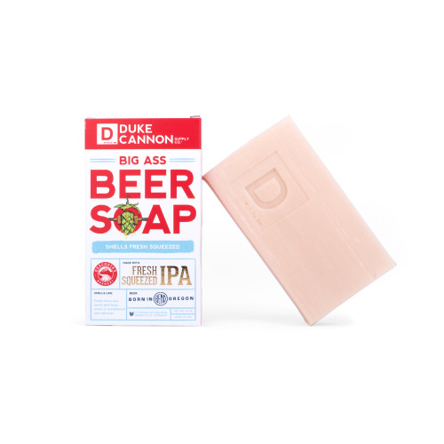 Duke Cannon Big Ass Beer Soap-Fresh Squeezed IPA