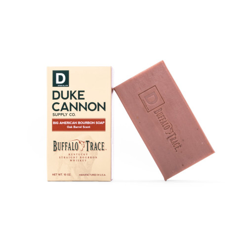 Duke Cannon Big American Bourbon Soap-Oak Barrel Scent