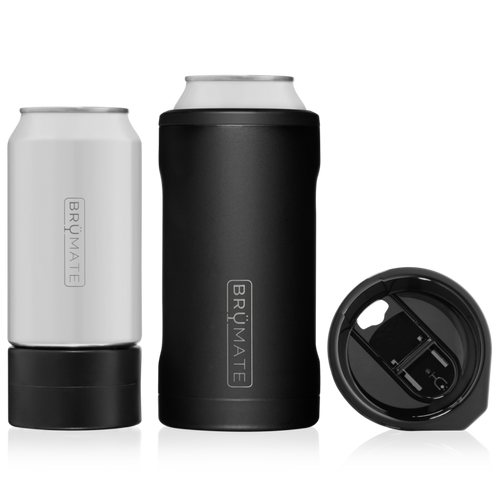 BruMate HOPSULATOR TRÍO 3-IN-1 | MATTE BLACK (16OZ/12OZ CANS)