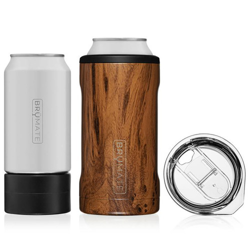 BruMate HOPSULATOR TRÍO 3-IN-1 | WALNUT (16OZ/12OZ CANS)