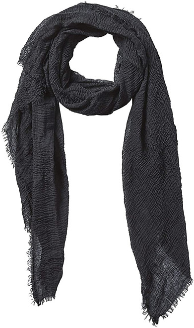 Women's Lightweight Summer Insect Shield Scarf- Classic Black