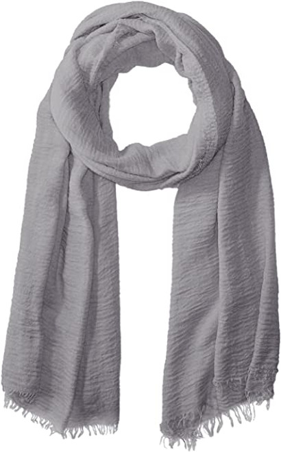 Women's Lightweight Summer Insect Shield Scarf -Classic Grey