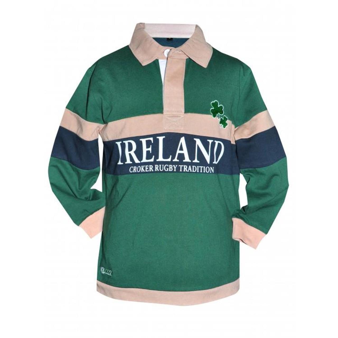 f99eb8109 Croker Kids Traditional Rugby Jersey   Irish Kid Jersey