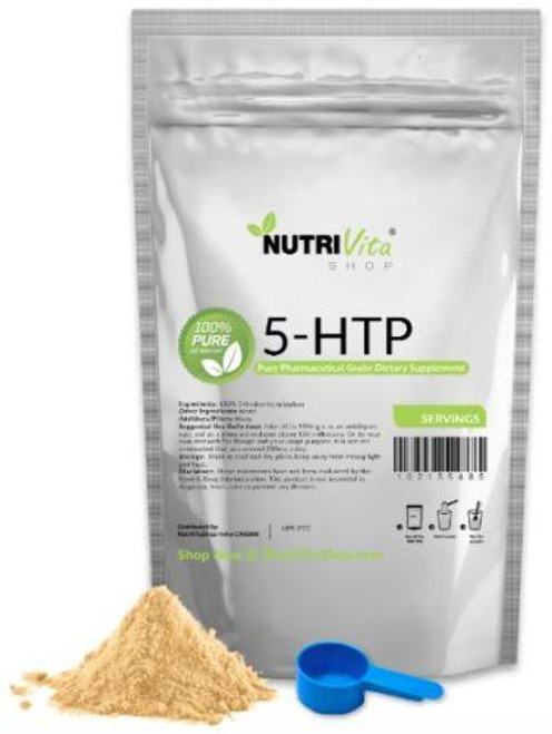 5-HTP 100% Pure Powder Anti-Depressant Mood Enhancer PHARMACEUTICAL