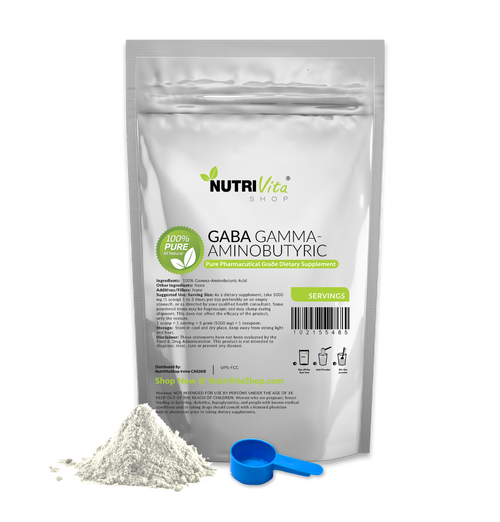 GABA Gamma Aminobutyric Acid 100% Pure Powder Pharmaceutical