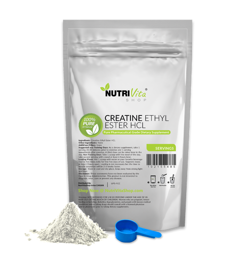 Micronized Creatine Ethyl Ester (CEE) HCL 100% Pure - Pro-Formulated