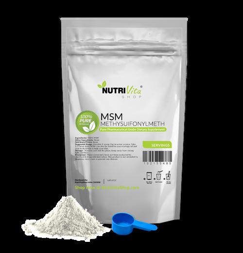 MSM (Methylsulfonylmethane) 100% Pure Powder Pharmaceutical