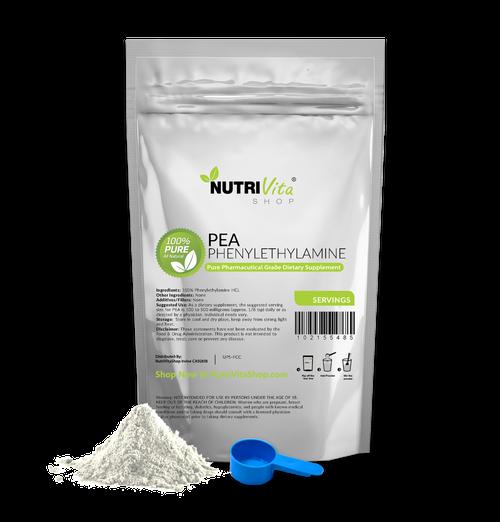 Phenylethylamine HCL PEA 100% Pure Powder