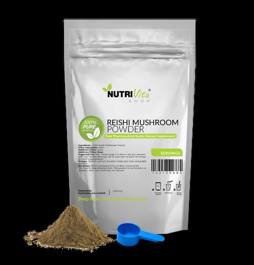 Reishi Mushroom 100% Pure Powder Pharmaceutical Grade