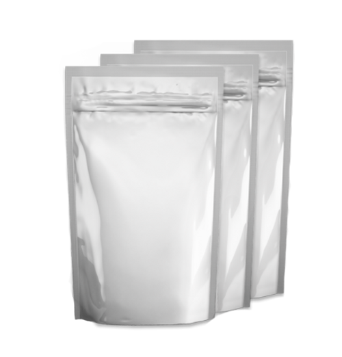 """6"""" x 9"""" x 3"""" 24oz*  Sliver Foil Stand Up Zip Lock Bags Pouches Odor Proof"""