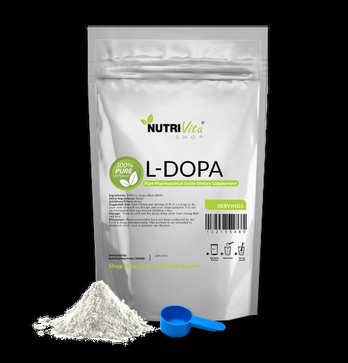 L-DOPA 100% Pure Levodopa Mucuna Pruriens Dopamine