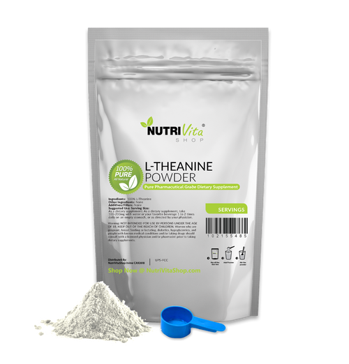 L-Theanine Pure Powder USP Grade 100% Pure