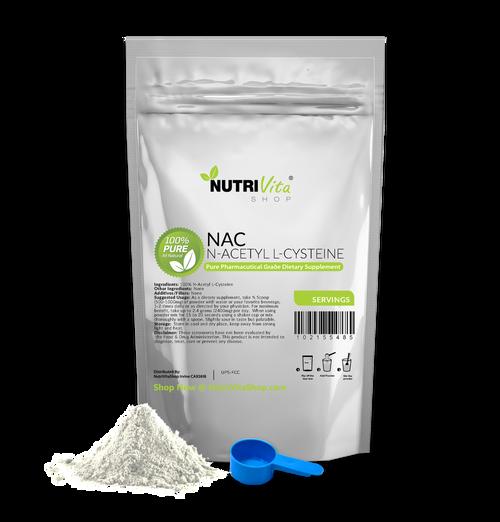 N-Acetyl L-Cysteine Powder - NAC - Pharmaceutical USP 100% Pure