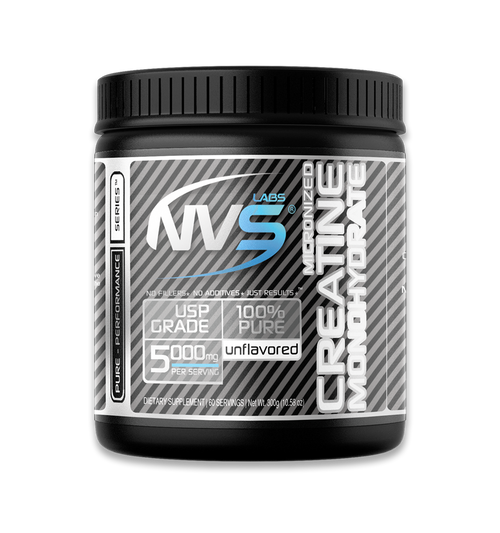NVS Labs Pure Micronized Creatine Monohydrate Powder Unflavored