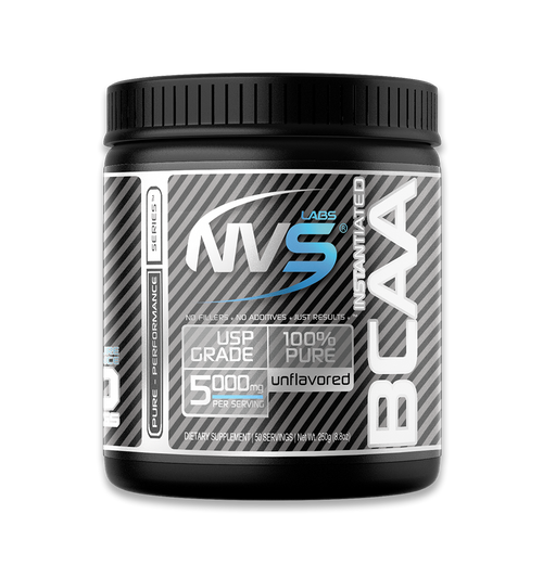NVS Labs Instantized Pure BCAA Powder Unflavored