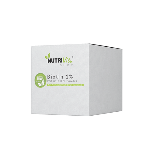 Biotin 1% (Vitamin B7) Powder