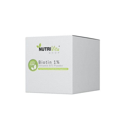 Biotin 1% (Vitamin B7) Powder