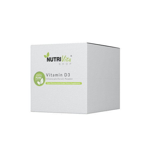 Vitamin D3 (cholecalciferol) Powder 100,000iu/Gram