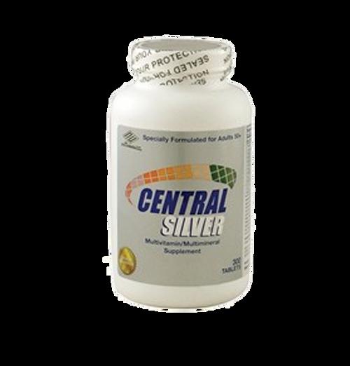 Central Silver For Ages 50+ (Vitamin D3, Vitamin E, Vitamin C, Vitamin Bs, CO-Q10, and Lutein)