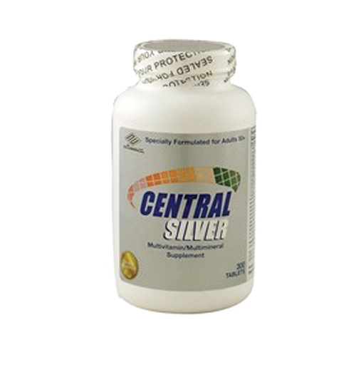 Central Silver For Ages 50+ (Vitamin D3, Vitamin E, Vitamin C, Vitamin Bs, CO-Q10, and Lutein)