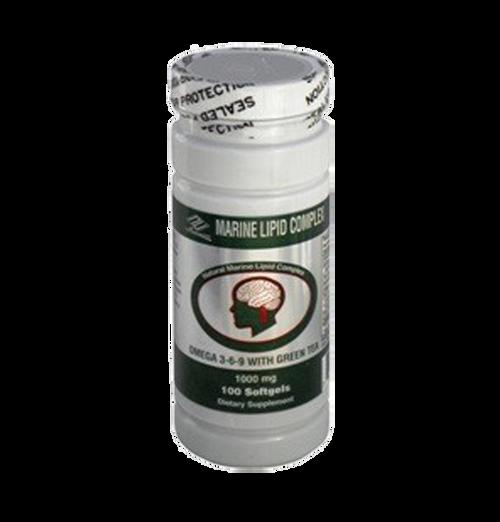 Marine Lipid Complex w/ Green Tea (100 Softgels)