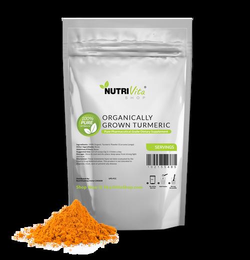 Organic Turmeric Root Powder (Curcuma Longa) 100% Pure