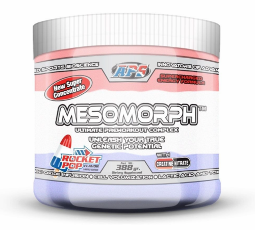 APS Nutrition MESOMORPH PRE-WORKOUT All Flavors FREE SHIPPING