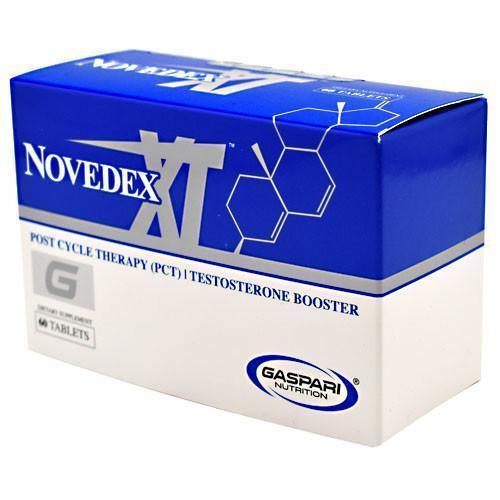 Gaspari NOVEDEX-XT Post Cycle Therapy PCT Estrogen Blocker 60 Tablets