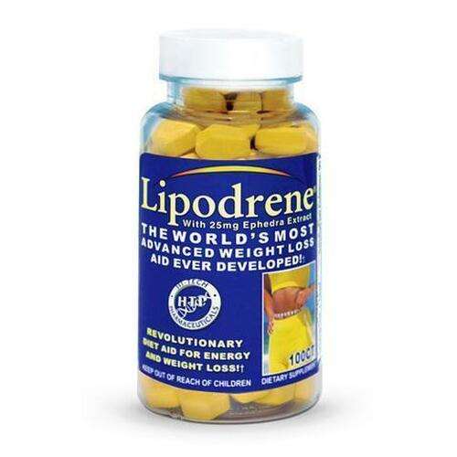 Hi-Tech Pharmaceuticals Lipodrene 100 Tablets FREE SHIPPING