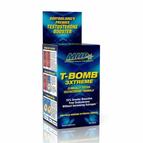 MHP T-BOMB 3XTREME TEST Formula 168 Capsules