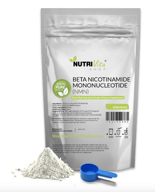 100% PURE (NMN) Beta NICOTINAMIDE MONONUCLEOTIDE POWDER NAD +