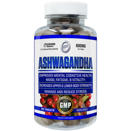 Ashwagandha Extract 600mg 90 Tablet Hi Tech Pharma Cyclosome