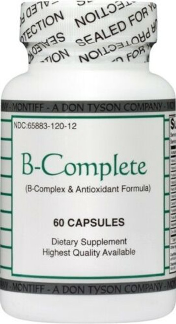 B-COMPLETE(B-Complex & Antioxidant Formula)60 caps