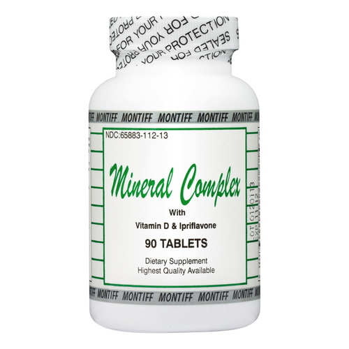 MINERAL COMPLEX With Vitamin D & Ipriflavone-90 tabs
