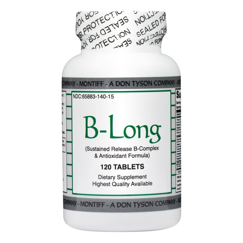 B-LONG (Sustained Release B Complex plus Antioxidants) 120 Tabs