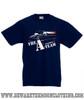 A Team Van Retro TV Show Kids Navy T Shirt