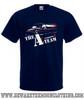 A Team Van Retro TV Show Mens Navy T Shirt