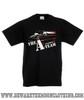 A Team Van Retro TV Show Kids Black T Shirt