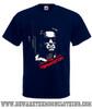 Terminator Classic Retro Movie T Shirt Mens Navy