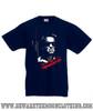 Terminator Classic Retro Movie T Shirt Kids Navy
