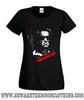 Terminator Classic Retro Movie T Shirt Ladies Black