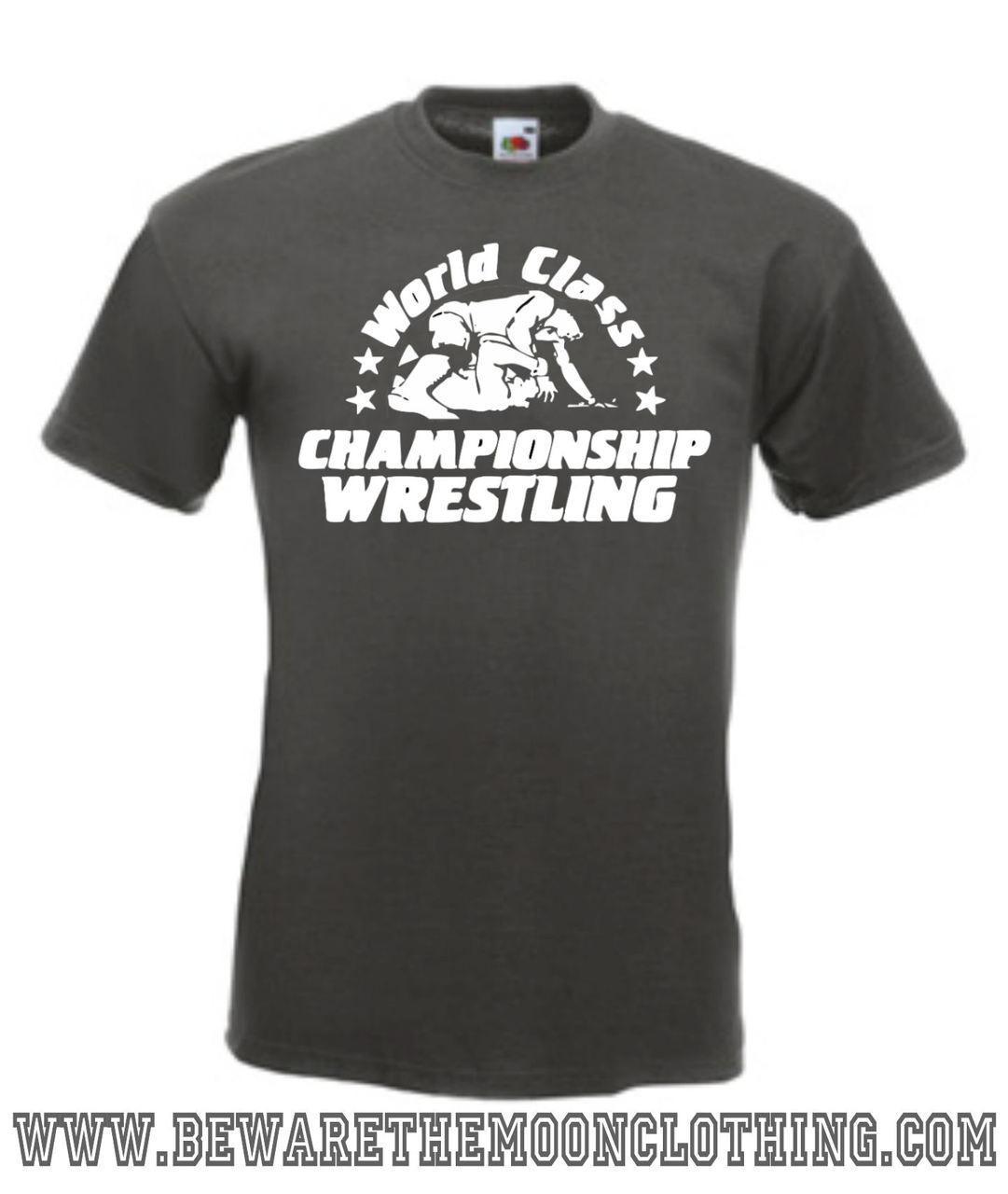 37f26b18 WCCW World Class Championship Wrestling T Shirt / Hoodie   Beware ...