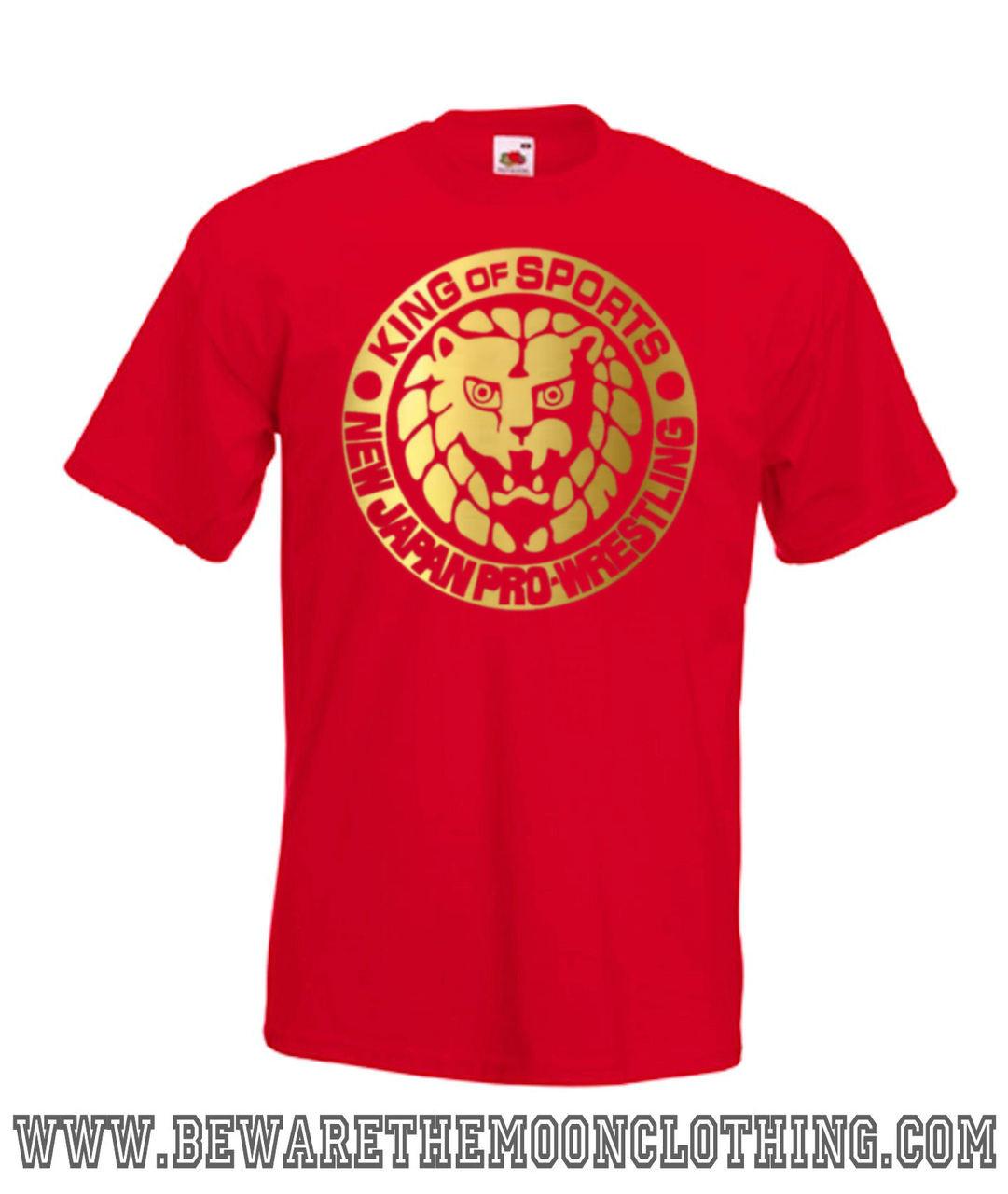 3f038ed9 New Japan Pro Wrestling T Shirt / Hoodie   Beware The Moon Clothing