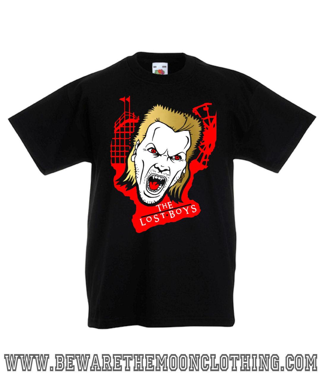 The Lost Boys 80s Vampire Horror Movie T Shirt