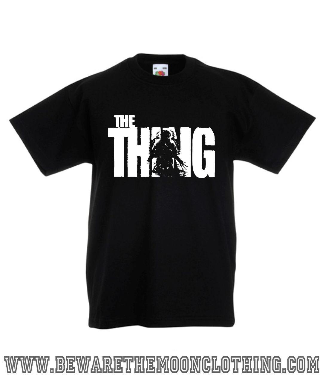Men/'s Ladies T SHIRT retro cult FILM MOVIE sci-fi horror The Thing 1982 Kurt 1