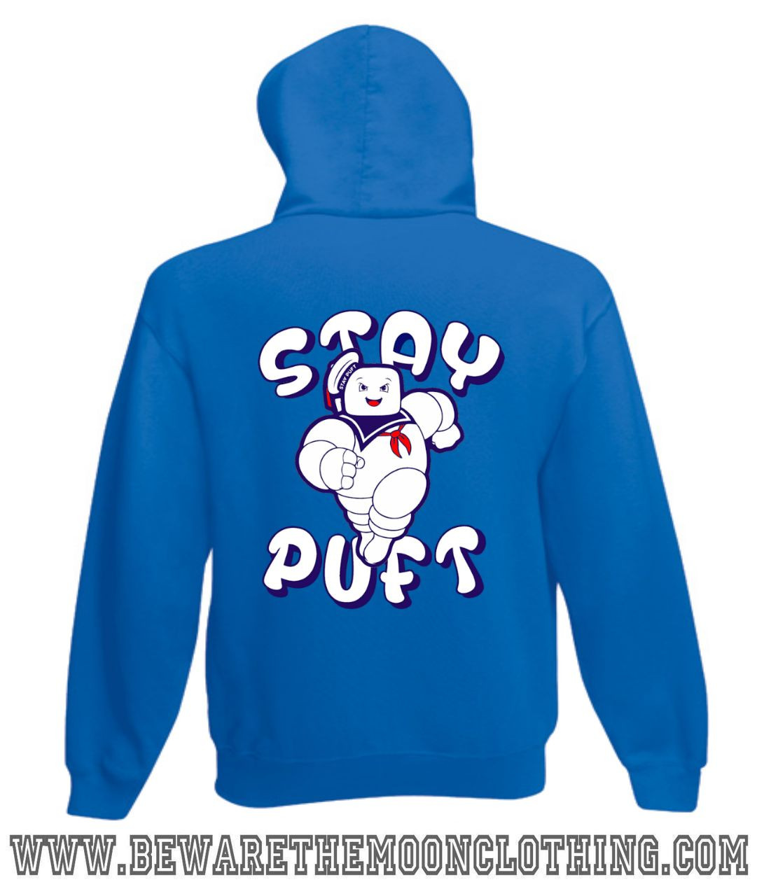 MARSHMALLOW MAN HOODY HOODIE FUNNY STAY PUFT GHOSTBUSTERS RETRO QUALITY NEW