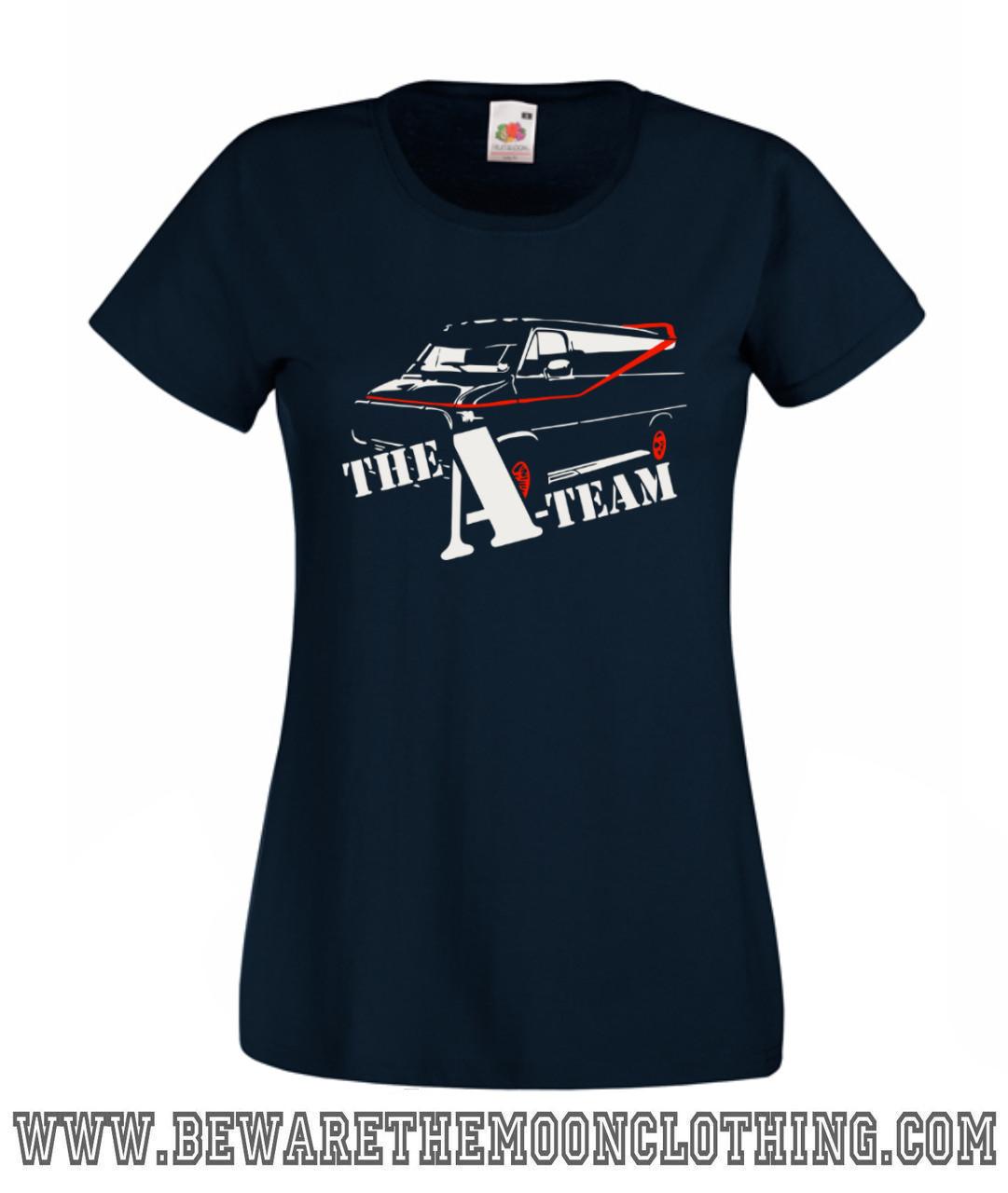 A Team Van Retro 80s TV T Shirt Hoodie